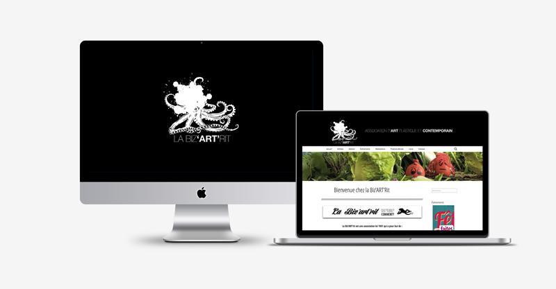 La Biz'ART'Rit / Webdesign et développement