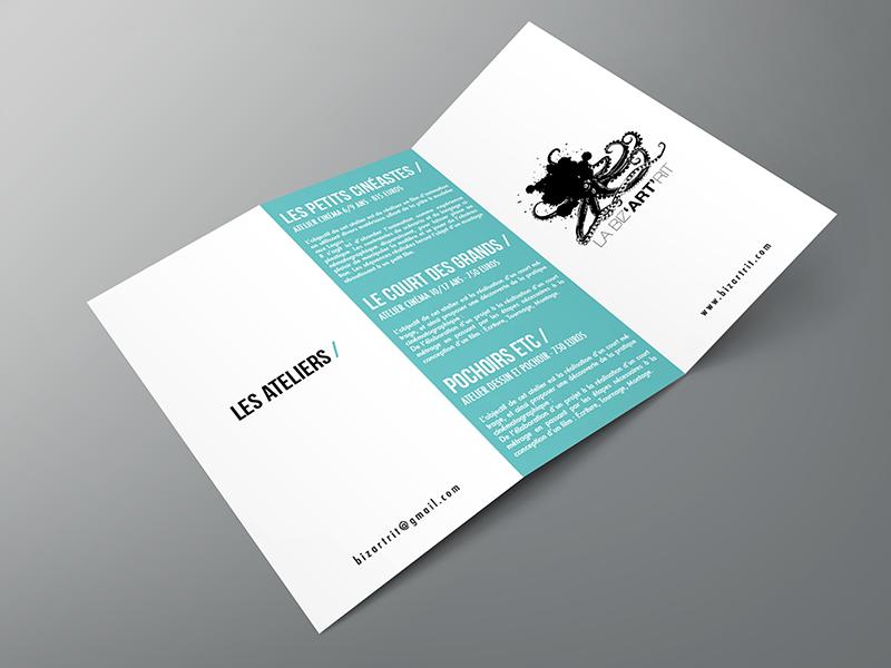La Biz'ART'Rit / Plaquette Ateliers recto